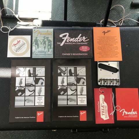 Fender Telecaster California Series 1997