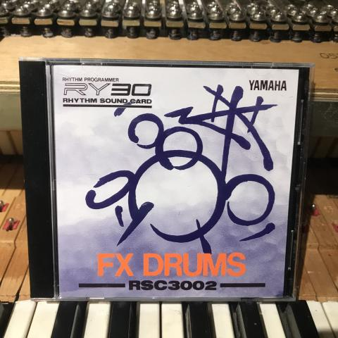 YamahaRSC3002 FX Drums